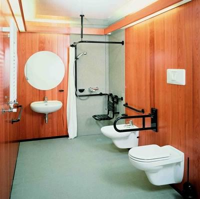 La specificità del bagno per questo tipo di impiego, ha richiesto un ...